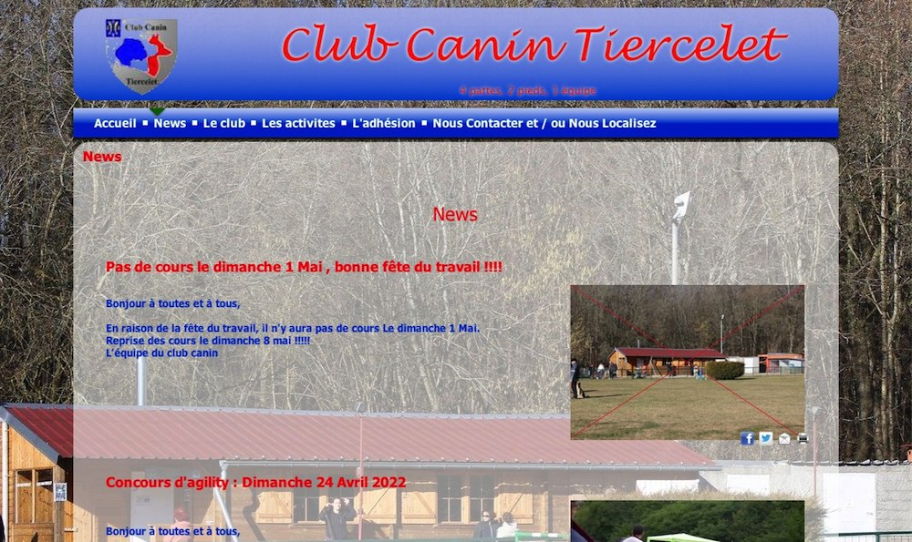 club canin tiercelet 54