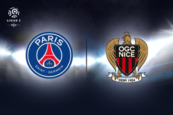 Le psg s'impose facilement face a nice !