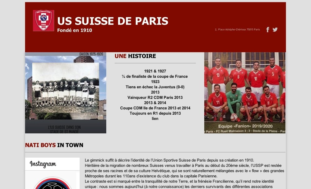 Site De Paris Suisse